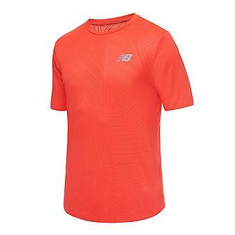 New Balance Q Speed Fuel MT11278GHP running all year men t-shirt