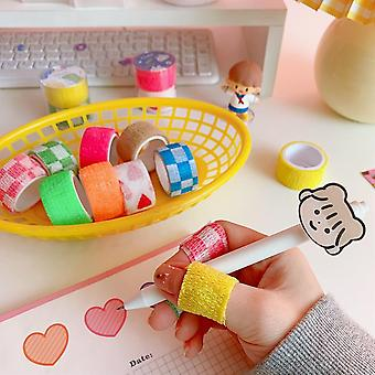 Cartoon Anti Abrasion Self-adhesive Finger Protect, Fingers Elasticity Tape,