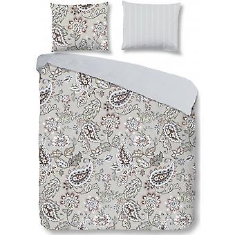 duvet cover 240 x 220 cm cotton light grey