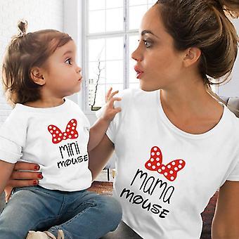 Ripset Naisten ja lasten T-paita, Perhevastaavuus T-paita