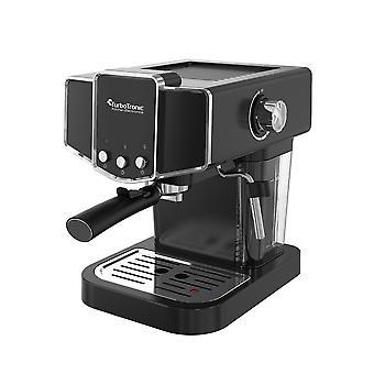 Turbo Tronic CM23 Piston Retro Espressomaskin - Svart
