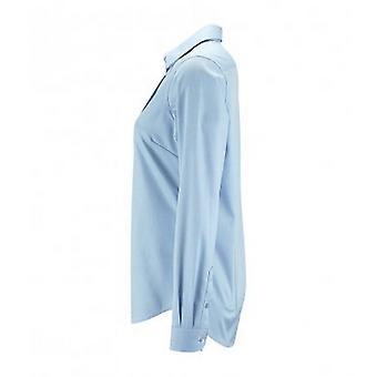 SOLS Womens/Ladies Brody Herringbone Long Sleeve Shirt