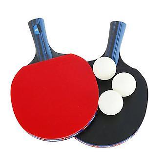 ערכת מחבט טניס שולחן מקצועית חדשה (ארוכה + קצרה)