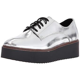 Madden Girl Womens writtem Lace Closed Toe Oxfords