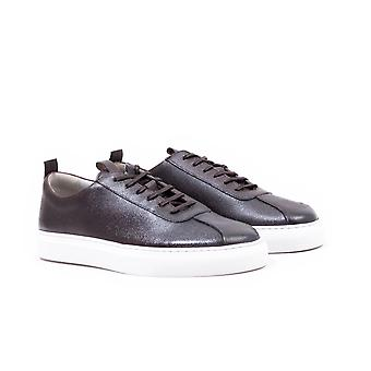 Grenson Sneaker 1 Leather Trainers - Black