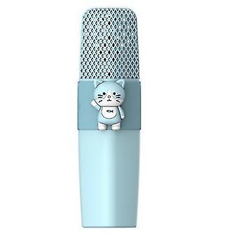 Cat blue k9 wireless bluetooth microphone ktv singing children cartoon microphone az6229