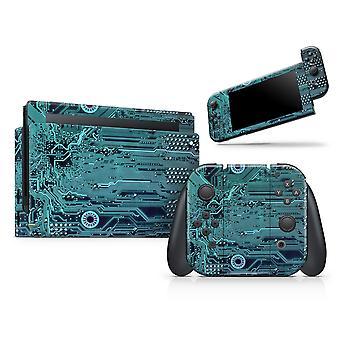 Electric Circuit Board V5 - Full Body Skin Decal Wrap Kit pentru Nintendo