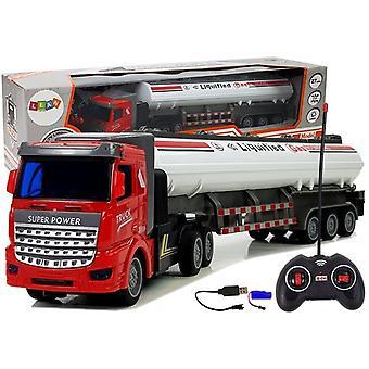 RC LKW-Tankwagen – lenkbar – 1:48 mit Ladegerät und Fernbedienung