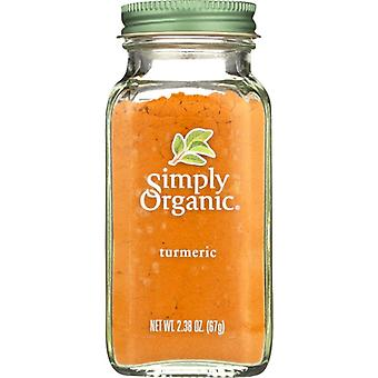 Simply Organic Tumeric Grn Org Bttl, Case of 6 X 2.38 Oz