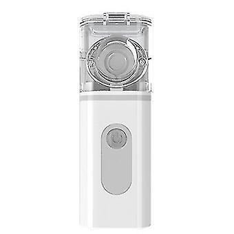 Ultrasonic atomizer, portable handheld compression atomizer(Gray)