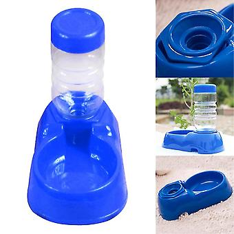 Dog's Pet Puppy Cat Automatic Water Bottles Dispenser Food Dish Bowl Feeder For Dogs