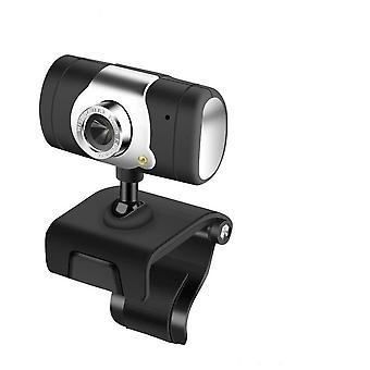 USB 2.0 30 megapikseli Web Cam HD -kameran verkkokamera MIC-mikrofonilla Musta väri Tietokonetietokoneelle