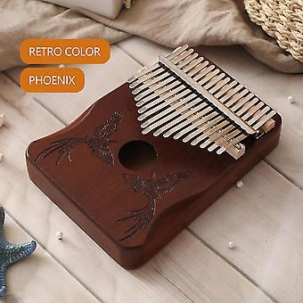 عالية الجودة خشبية كاليمبا الإبهام البيانو الجسم الآلات الموسيقية