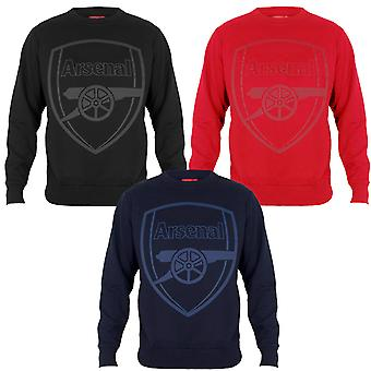 Arsenal FC Mens Sweatshirt Graphic Top OFFICIAL Football Gift