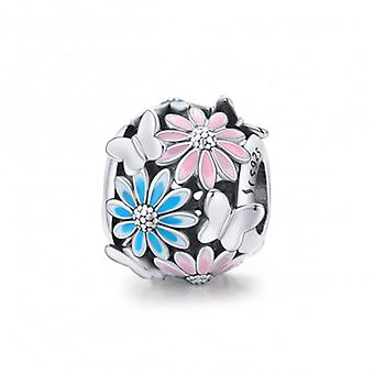 Sterling Silver Charm Bright Daisy - 7208