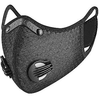 Dust masks modern anti pollution cycling face mask with activated carbon filters pm 2.5