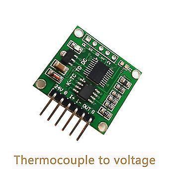 Módulo transmisor de termopar a voltaje 0-5v 0-10v k tipo placa de conversión de temperatura lineal dos