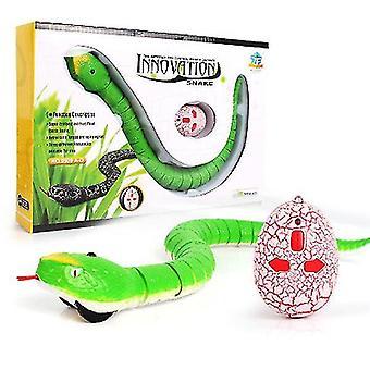 Nieuwigheid rc slang naja cobra adder afstandsbediening robot dierlijk speelgoed met usb-kabel grappig angstaanjagend