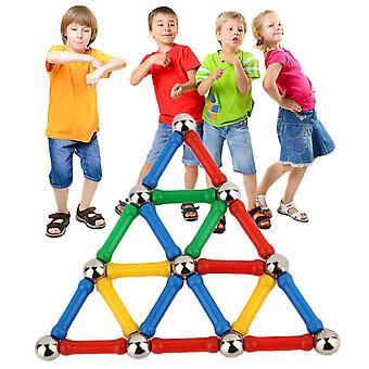 28 stuks / set driedimensionale handleiding magnetische blokken educatieve kinderen speelgoed