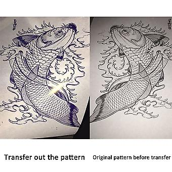 Tattoo Siirto Kopiokone Tulostin Kone Lämpö kaavain Maker Eu/us Pistoke