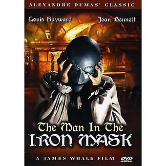 The Man in the Iron Mask [DVD] USA import