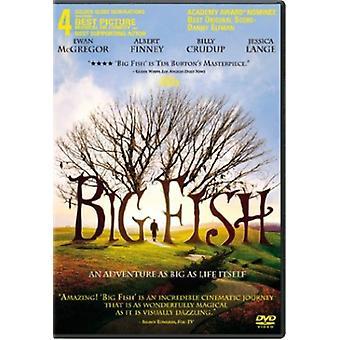 Big Fish [DVD] los E.e.u.u. la importación