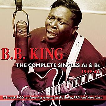 B.B. King - król B.B.-kompletne Singlesas & b 194 [CD] USA import