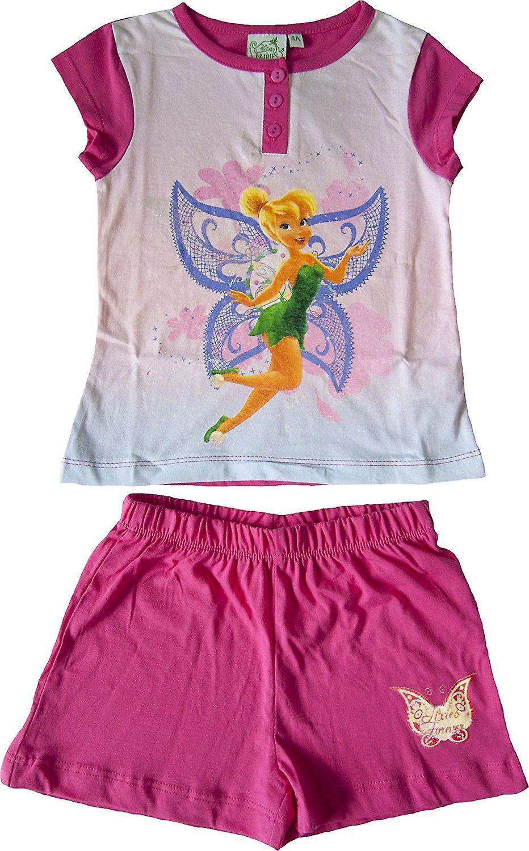 Disney Fairies Tinkerbell Mädchen kurze Pyjama-Set in der Box