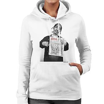 Snoop Dogg Daily Star Newspaper Women's Hooded Sweatshirt
