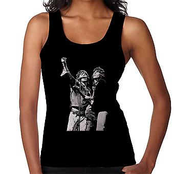 The Rolling Stones Mick Jagger Keith Richards Rotterdam 1973 Women's Vest