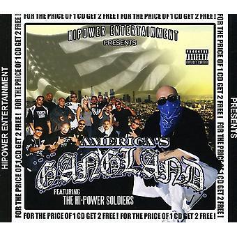 Hi-Power Entertainment Presents - Americas Gangland [CD] USA import