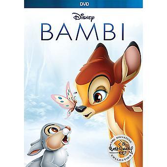 バンビ: ウォルト ・ ディズニー署名コレクション 【 DVD 】 USA 輸入
