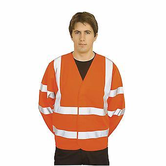 Portwest - bande de vêtements de travail deux sécurité Hi-Vis & Brace Jacket