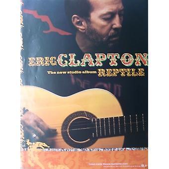 Eric Clapton Reptile Poster