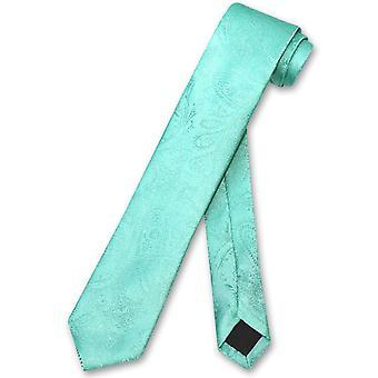 Везувио Наполи узкий галстук сплошной Пейсли 2.5