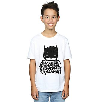 DC Comics Boys Batman Always Be Yourself T-Shirt