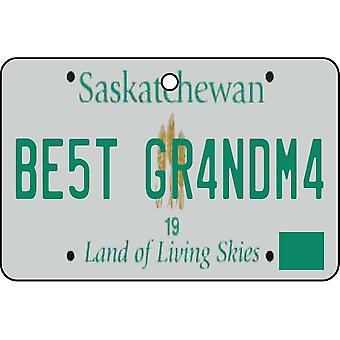 SASKATCHEWAN - beste oma License Plate auto luchtverfrisser