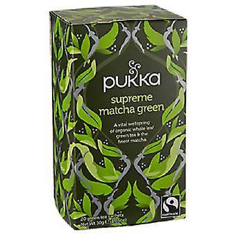 Pukka Organic Supreme Matcha Green Tea