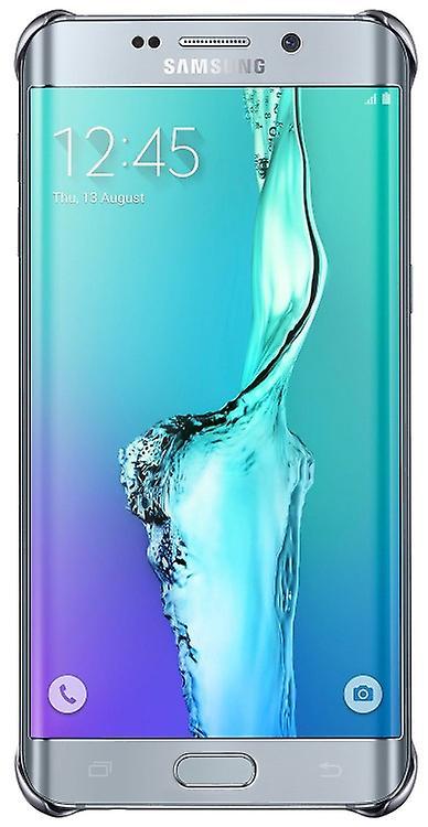 Samsung EF-QG928CSE Hard Cover case silver, G928 Galaxy S6 edge + transparent
