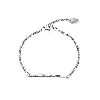 Esprit Damen Armband Armreif Silber JW50217 Zirkonia ESBR91786A160