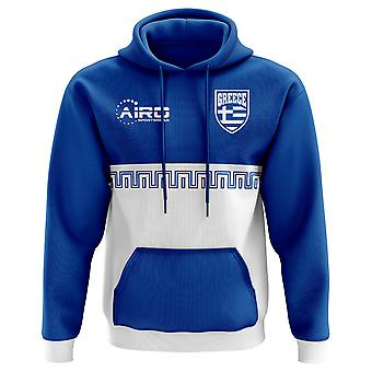 2020-2021 Greece Home Concept Football Hoody (Kids)