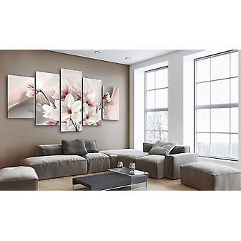 Painting - Magnolia in bloom100x50