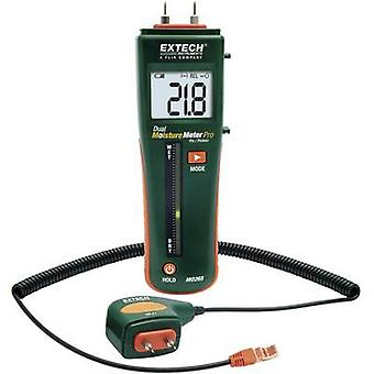 Extech MO265 Moisture meter Building moisture reading range 0 up to 99.9 vol % Wood moisture reading range 6 up to 94.8 vol %