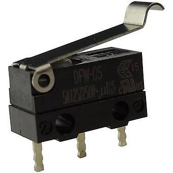 Zippy Microswitch DFW-05S-B02P0E-Z 250 V AC 5 A 1 x On/(On) IP67 momentary 1 pc(s)