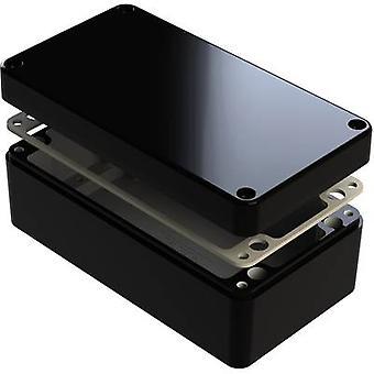 Recintos de Deltron 487-261609B Universal caja 260 x 160 x 90 aluminio negro 1 PC