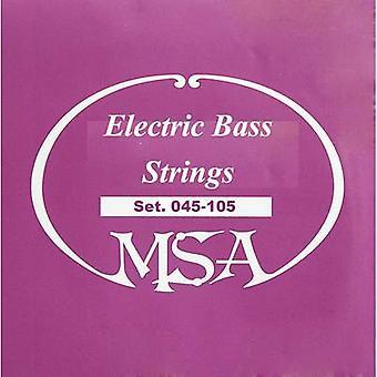 MSA Musikinstrumente Bass guitar steel string SB1 045-105 045-105