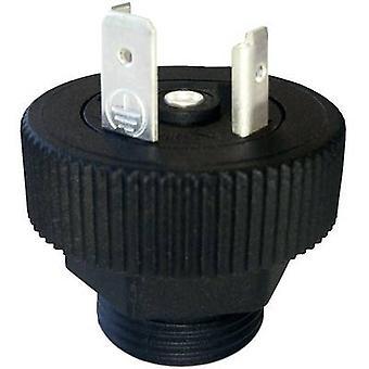Hirschmann 931 298-001 SAP 211 PG11 Connector stekker zwart aantal pinnen: 2 + PE