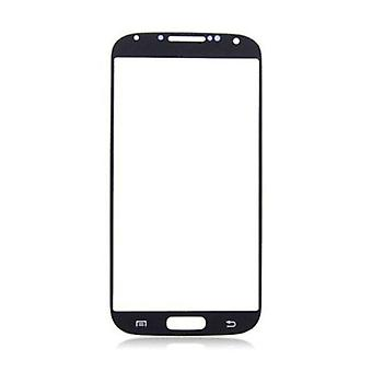 Stuff Certified® Samsung Galaxy S4 i9500 Front Glass Glass Plate AAA + Quality - Black