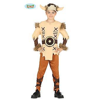 Guirca costume pour jeune Viking Gaulois barbare de costume enfant