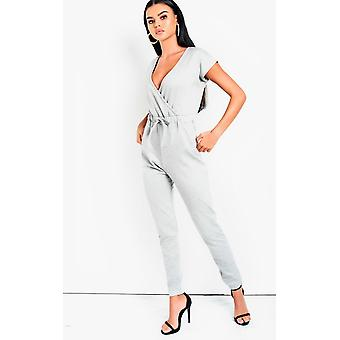 IKRUSH Womens Marcie One Piece Lounge Jumpsuit